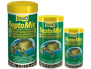 Tetra ReptoMin Reptile Food for Turtle Toad Frog 1000ML/220g 250ML/55g with Calcium and Vitamin A D3 E