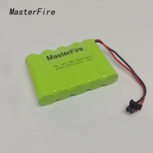 MasterFire 9PACK/LOT New Original 6V 1800mAh 5x AA Ni-MH RC Rechargeable Battery Pack for Helicopter Robot Car Toys with Plugs