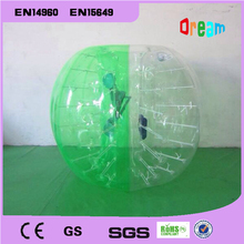 Free Shipping!1.0m Kids Ball Best Quality Body Zorb Ball/Bubble Soccer/Inflatable Loopy Ball/Bumper Ball