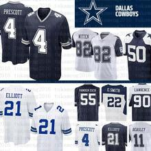 27c8b143724 Dallas Jersey Cowboys 4 Dak Prescott 21 Ezekiel Elliott 50 Sean Lee 82  Jason Witte Cole
