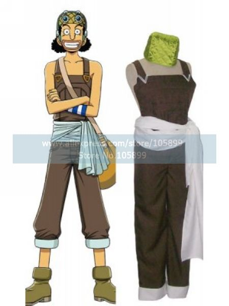 One Piece Usopp Cosplay Costume In Anime Costumes From Novelty