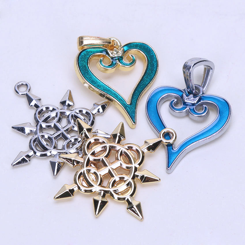 13pcslot cosplay kingdom hearts keyblade metal necklace sora 13pcslot cosplay kingdom hearts keyblade metal necklace sora keychain weapon figure toys pendants briqudoes bebe in action toy figures from toys aloadofball Image collections