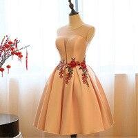 Women Dresses 2018 Floral Vintage Party Elegant Club Lace Autumn Summer Mini Dress Red Bride Bridesmaid Bandage Sweet Clothing