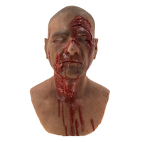 Realistic Cosplay Costume Party Halloween Horror Silicone Man Mask