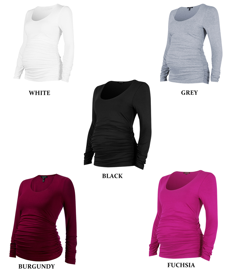 Maternity Lycra Plus Size T-shirt for Pregnant Women
