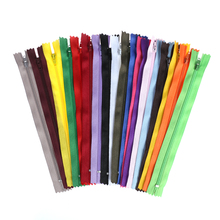 10Pcs/Lot 20cm Length Colorful Useful Nylon Coil Zippers Tailor For Trousers Clothing Garment Sewing Handcraft DIY Accessories