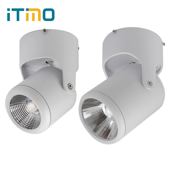 10W 20W AC 85-265V Spot light Super Bright Surface Mounted 180 Degree Rotation Ceiling Lamp White / Warm White Led Downlights