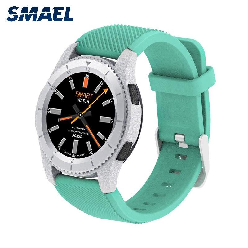 Smael Smart Uhr Multimode Sport Uhr Schrittzähler Bluetooth 4,0 Heart Rate Monitor Relogio Inteligente Für Xiaomi Huami Reloj Eine Hohe Bewunderung Gewinnen Unterhaltungselektronik Tragbare Geräte
