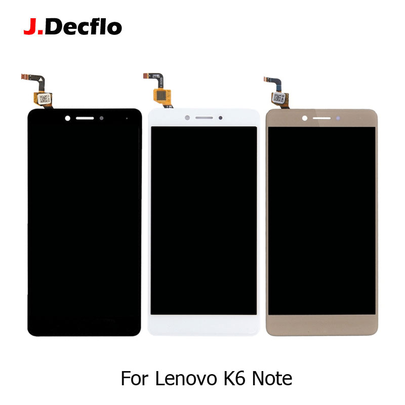 For Lenovo K6 Note Lcd Display Touch Screen Without Frame Digitizer Replacement 100% Tested Original 1920x1080 Black White GoldFor Lenovo K6 Note Lcd Display Touch Screen Without Frame Digitizer Replacement 100% Tested Original 1920x1080 Black White Gold