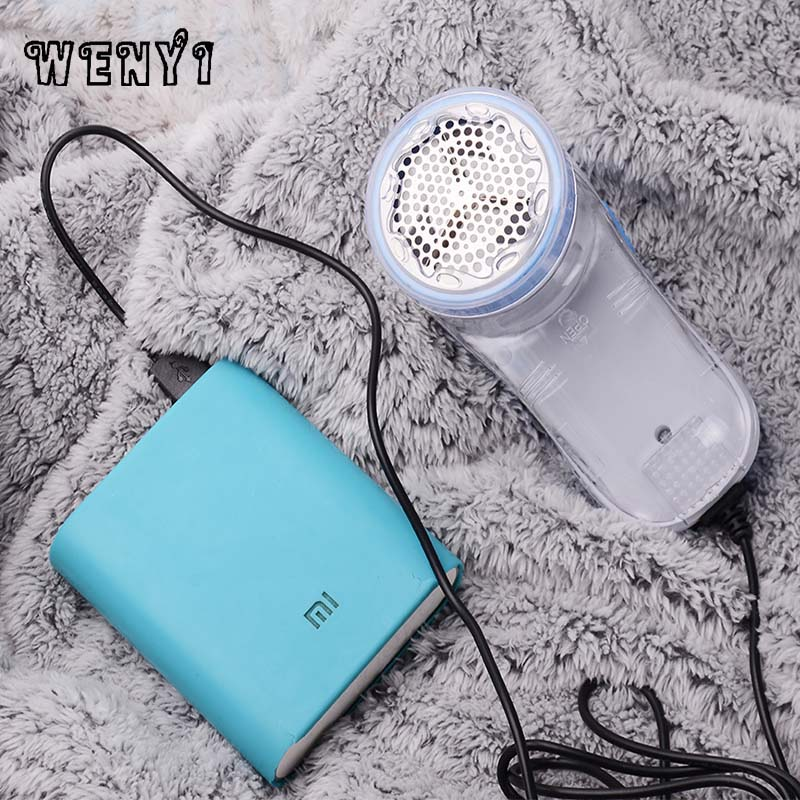 WENYI Sweater Hairball Trimmer USB Charging Socket Shaver And Scraper