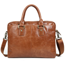 men handbags cow leather 2017 new fashion brand brown business dress casual shoulder bags genuine leather laptop bags female  стоимость