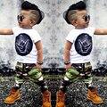 Baby Clothes Sets Infant Clothes Children Clothes Sets Boy Sets Stylish PopTops T-shirt Camouflage Pants Outfits Clothes