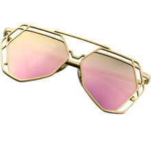 Hot Sale New Cat Eye Sunglasses Women Brand Design Alloy Frame Luxury Fashion Outdoor Travel Sunglasses Women Ladies UV400