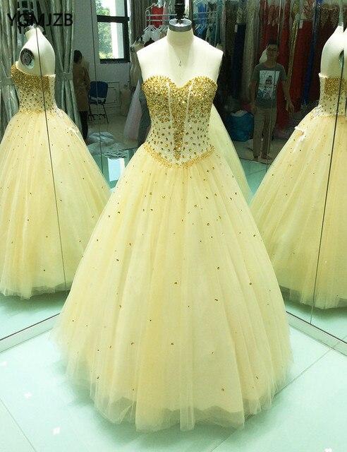 6e70be6df64a Venta Vestidos De Quinceañera oro vestido baile 2018 fiesta Formal ...