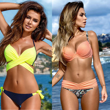 Sexy Swimwear Women Swimsuit Push Up Brazilian Bikini
