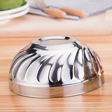 High Quality Safe Double Wall Thermal Insulation Stainless Steel Bol Children Kids Adult Bowls Lunch Dinner Fruits Salad Bowl