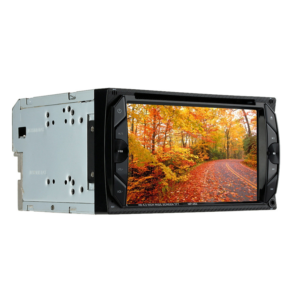 6.2 Double Din Best HD Car DVD Player Support Rear View Camera/Bluetooth/MP5 For Frod/VW/BMW/Opel/Camry энциклопедия таэквон до 5 dvd