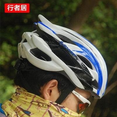 China post Free shipping Bicycle helmet mountain bike cycling cap ride helmet one piece giant emerita male Women