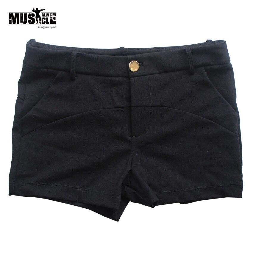 f01f21ec7 Sólido moda Pantalones cortos mujeres estilo verano casual corto para mujer  ropa de alta calidad de la muchacha M