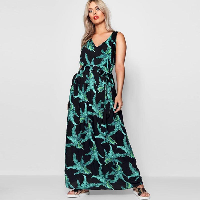 Summer 5XL 6XL Women Dresses Plus size Flower Print 2018 Femme Party Long  Dress Big Size 592636d6c6c3