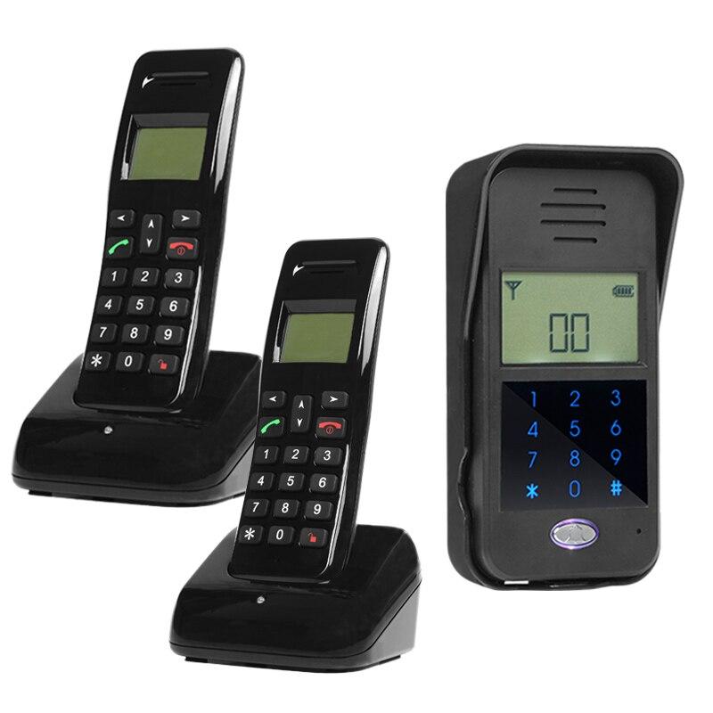 2.4G Wireless 1V2 Long Distance Intercom Door Phone