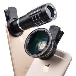 Buffle 12x telephoto telescope mobile phone lens 0 45x wide angle lens 12 5x macro lens.jpg 250x250