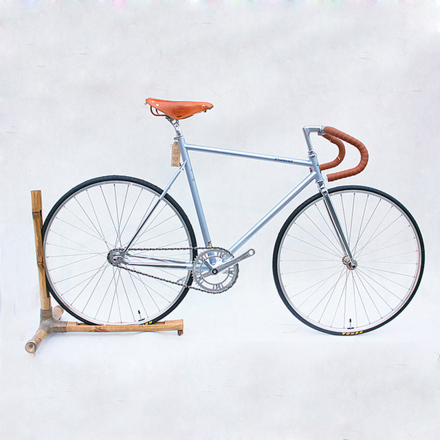 54cm 58cm 60cm fixie bike Retro Steel frame sliver Fixed Gear bike ...