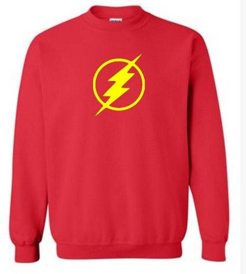 men's sportswear Lightning Le Big Bang Theory Sheldon Cooper Foudre fleece hoodies