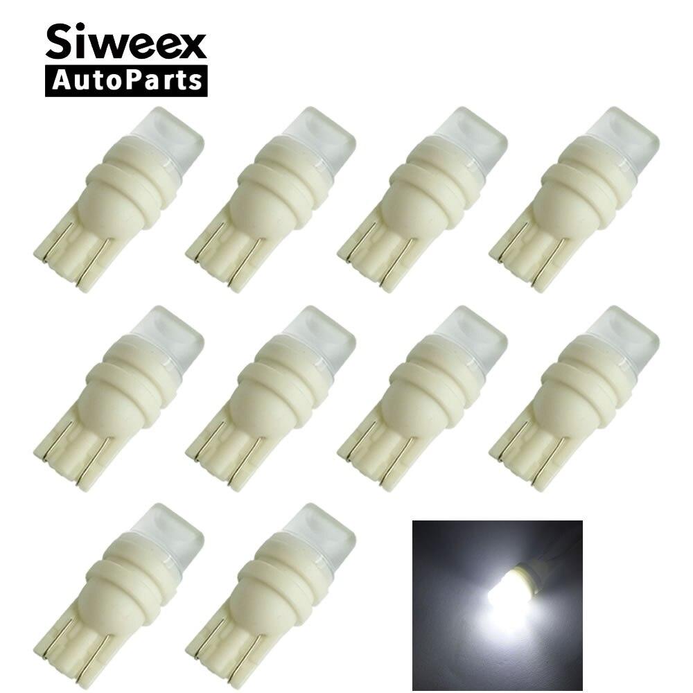 10 pcs High Quality T10 W5W 168 194 Led 2 SMD 3D Lentille Esprit Signal Lights License Plate Bulb Car 12V Lamp футболка esprit esprit es393egrhk66
