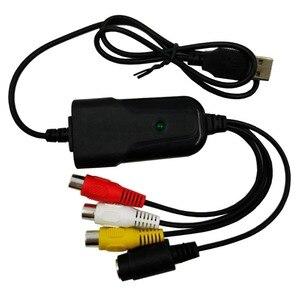 Image 3 - Portátil USB 2,0 AV/RCA compuesto y s video Audio Tarjeta de captura de vídeo VHS adaptador DVD