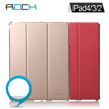 For ipad 2 / 3 / 4 Tablet PC China Style Rock Original Protective Leather Case