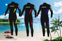Top Quality 3MM Neoprene Scuba Diving Wetsuit Winter Swimming Surfing Clothing Men Women Lovers Warm Jumpsuit