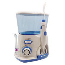 Professionell Oral Irrigator Water Flosser Bevattning Dental Floss 800ml vattenreservoar med 5 Water Jet Tips