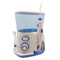 Professional Oral Irrigator Water Flosser Irrigation Dental Floss 800ml Water Reservoir With 5 Water Jet Tips
