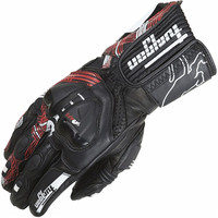 New AFS19 Leather Sports Vented Road Race Motorcycle Glove Men S CE Approved Goat Leather Motorbike