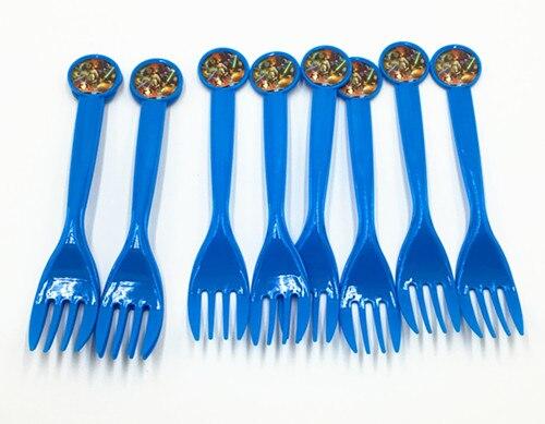 10pcs lot star wars theme plastic knife plastic fork plastic spoon