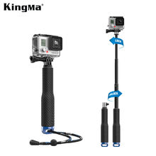 KingMa Selfi Selfie Stick Handheld Monopod Tripod Mount for Go pro GoPro Hero4 3 3+ Xiaomi yi SJ4000 SJ5000 70000 Accessories