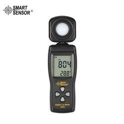 Capteur intelligent AS803 numérique Lux mètre Luminance testeur de lumière 1-200000 Lux outils photomètre spectromètre actinomètre