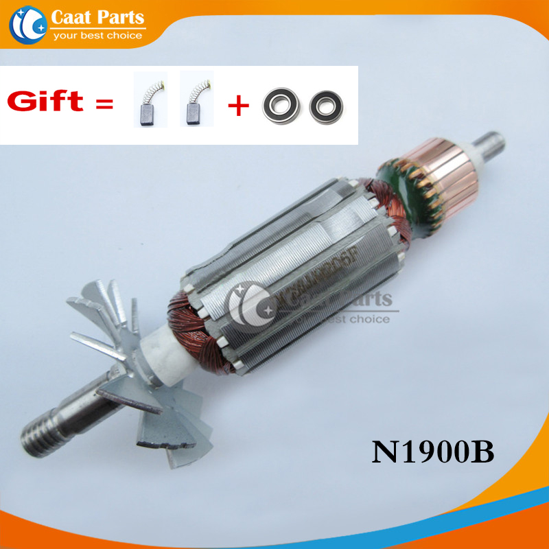 Free Shipping! AC220-240V Drive Shaft Electric Planer Armature Rotor For Makita N1900B  1900B , High-quality!
