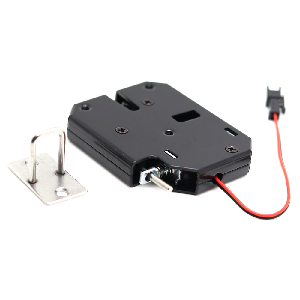 DC 12V 2A Solenoid Electromagnetic Electric Control Cabinet Drawer Lockers Lock Pudsh-push Design, Automatic Open the Door цена