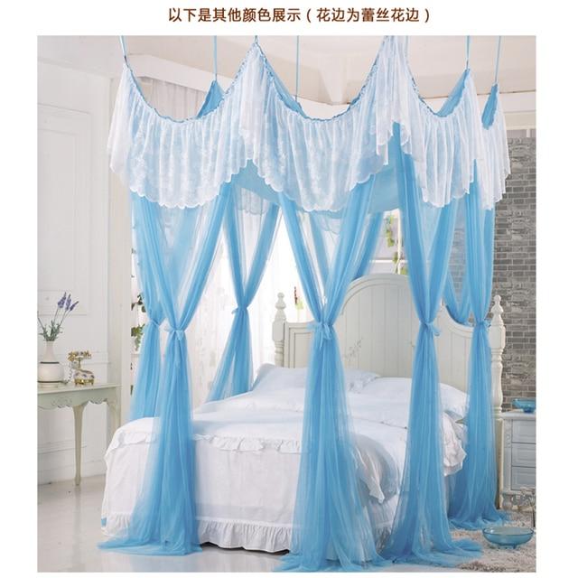 Alta calidad del verano de malla mosquitera bed canopy ganchos de ...