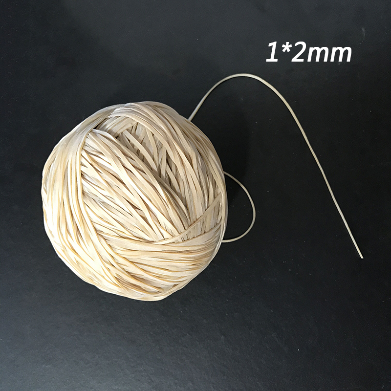 1*2mm Elastic Rubber Band Special Supplies For Model Airplane A Variety Of Styles Optional Hand Lesson Material