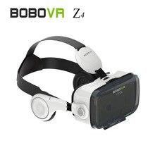 2016 (Versión 4.0) Caja 3D Movie Video Juego Glass120 VR VR Realidad Virtual Z4 Teléfono Auriculares con Auriculares para 4.7-6.2 pulgadas B1