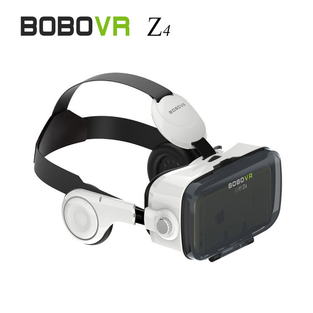 2016 (4.0 Version) VR Box 3D Movie Video Game Glass120 VR Virtual Reality Z4 Headset with Headphone for 4.7-6.2 inch Phone B1