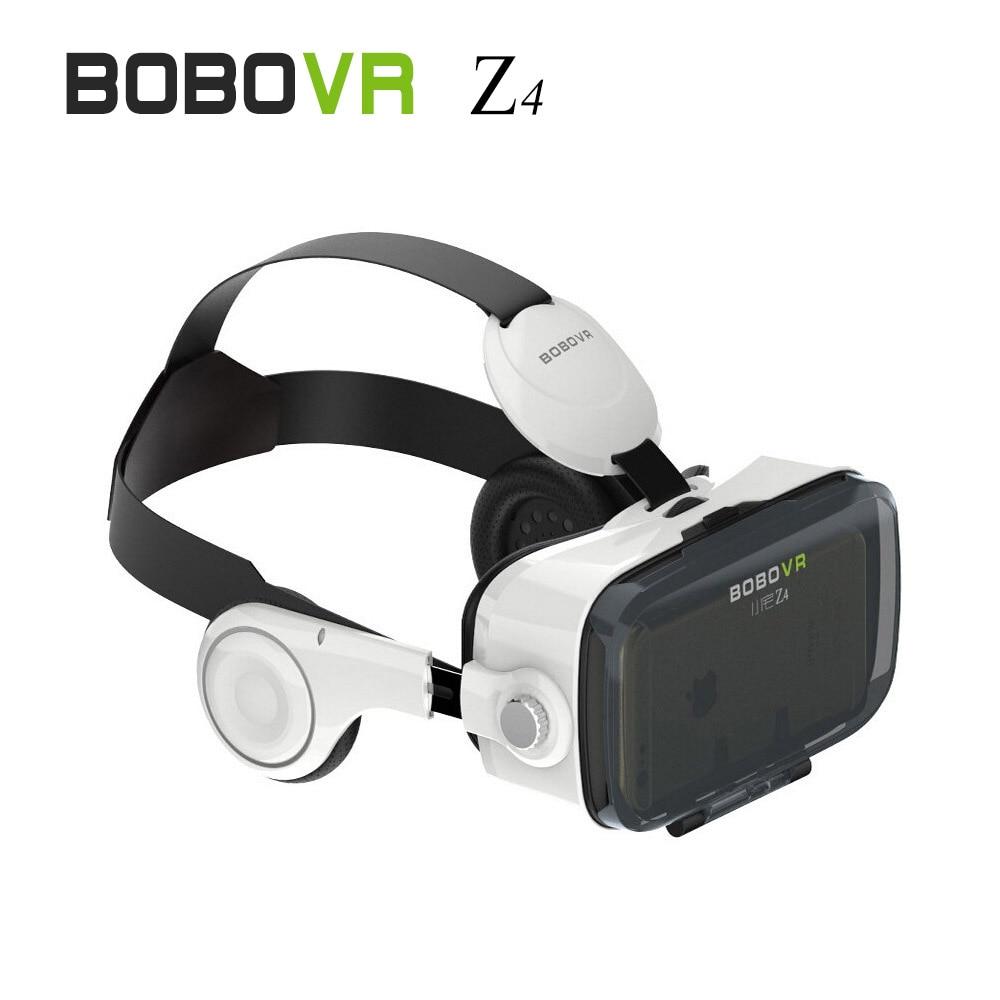2016 (4.0 Version) <font><b>VR</b></font> Box 3D <font><b>Movie</b></font> Video Game Glass120 <font><b>VR</b></font> <font><b>Virtual</b></font> <font><b>Reality</b></font> Z4 <font><b>Headset</b></font> with Headphone for 4.7-6.2 inch Phone B1