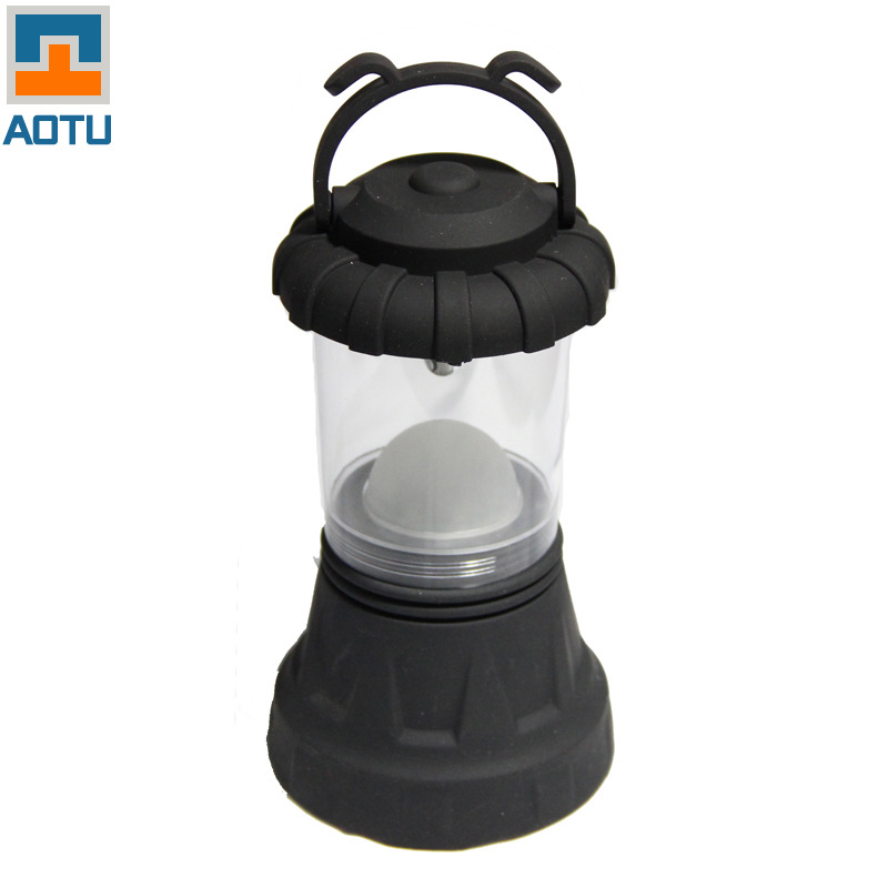 AOTU Multifunction Portable Outdoor Camping Tent Lights Flashlight Outdoor Lighting Lantern Lamp Emergency Light Free Shipping
