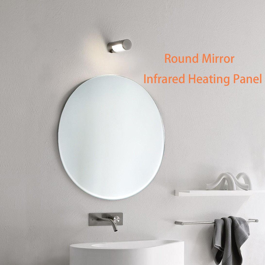 360 Watts Infrared Heated Mirror Bathroom Waterproof IR panels