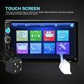 Marca New Car DVD Player de Áudio 7010B 7 ''HD Bluetooth Tela de Toque 2DIN FM Rádio do carro/USB/AUX-IN Jogador + 420 Linhas de TV Câmera