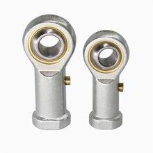 PHS8 8 мм Диаметр отверстия наконечника стержня подшипник шаровой шарнир M8x1.25 резьбовой стержень конец
