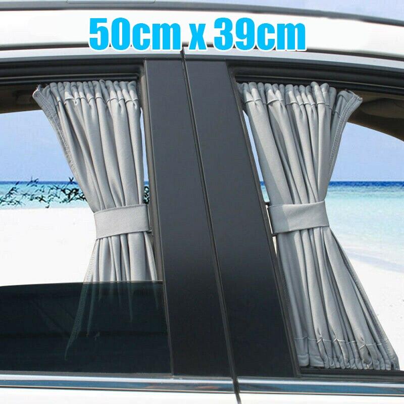 Серый автомобиль занавес передний и задний 2 шт окно анти-УФ Солнцезащитный козырек заменить